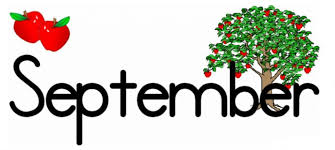 September with apples and apple tree